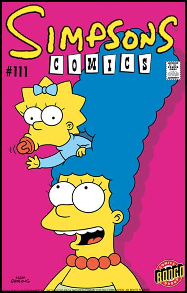 Image: Simpsons Comics #111 - Bongo Comics