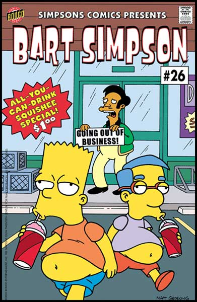 Image: Bart Simpson Comics #26 - Bongo Comics