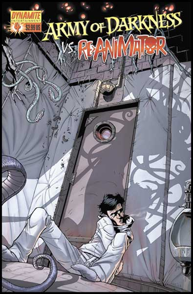 Image: Army of Darkness vs. Re-Animator #4 - D. E./Dynamite Entertainment