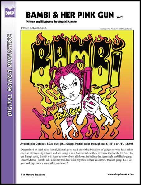 Image: Bambi & Her Pink Gun Vol. 2 SC  - Digital Manga Distribution