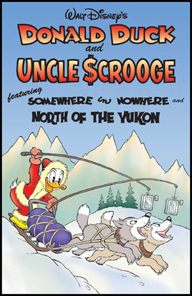 Image: Donald Duck and Uncle Scrooge Vol. 01: Somewhere in Nowhere SC  - Gemstone Publishing