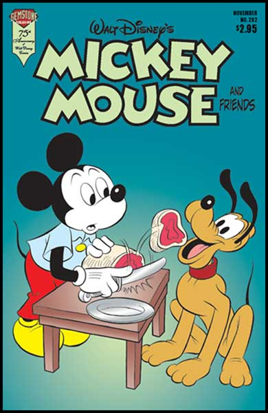 Image: Mickey Mouse and Friends #282 - Gemstone Publishing