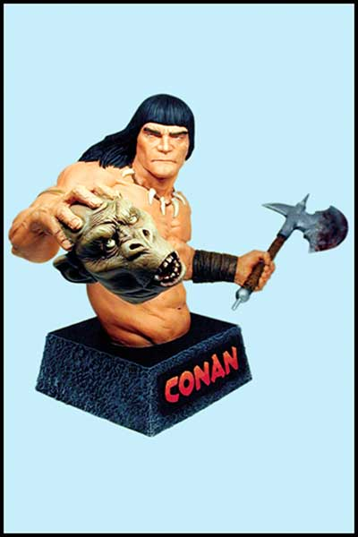 Image: Conan the Avenger Mini-Bust  - Dark Horse Comics
