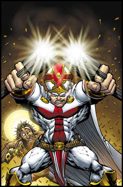 Image: Battle Pope Color Vol. 01: Genesis SC  - Image Comics