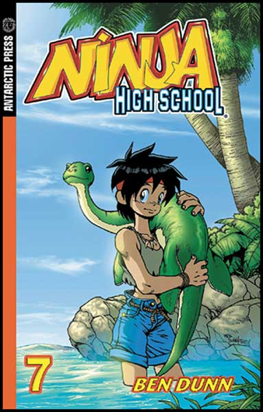 Image: Ninja High School Pocket Manga Vol. 07 SC  - Antarctic Press