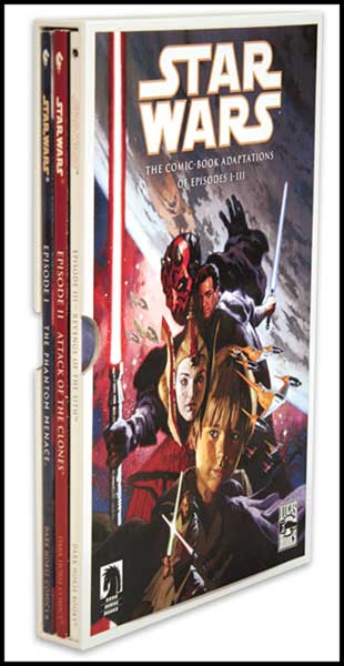 Image: Star Wars Episodes I - III Slipcased Set SC  - Dark Horse Comics