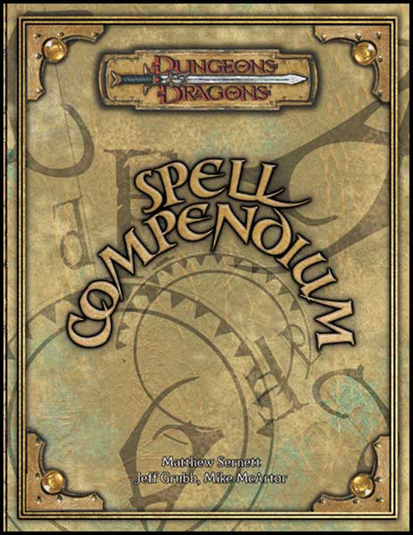 Image: Dungeons & Dragons Spell Compendium HC  -