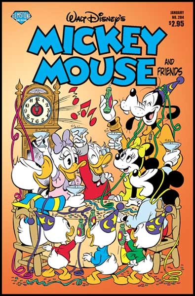 Image: Mickey Mouse and Friends #284 - Gemstone Publishing