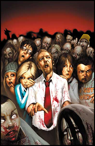 Image: Shaun of the Dead SC  - IDW Publishing
