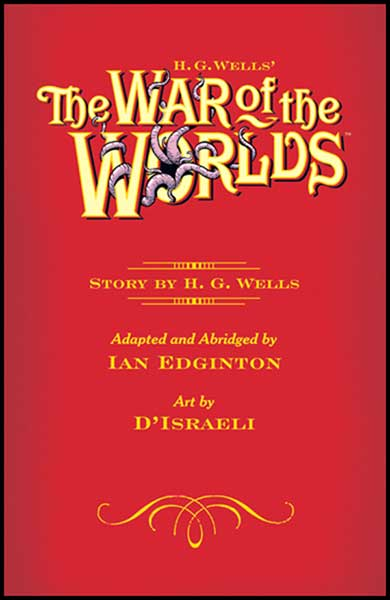 Image: H. G. Wells' The War of the Worlds HC  - Dark Horse Comics