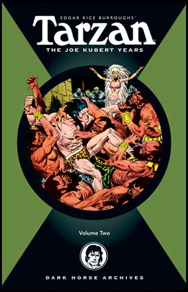 Image: Tarzan: The Joe Kubert Years Vol. 02 HC  - Dark Horse Comics