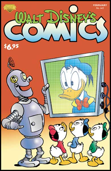 Image: Walt Disney's Comics & Stories #665 - Gemstone Publishing
