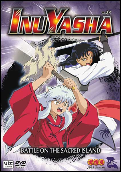 Image: Inuyasha Vol. 38: Battle on the Sacred Island DVD  -