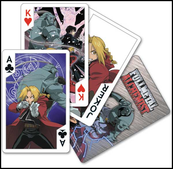 Image: Fullmetal Alchemist Playing Cards  -