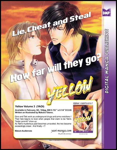 Image: Yellow Vol. 03 SC  - Digital Manga Distribution