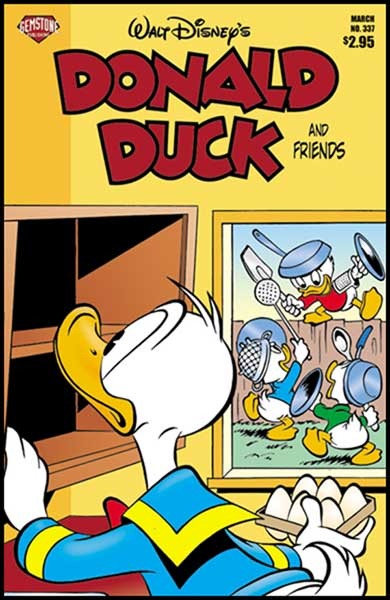Image: Donald Duck and Friends #337 - Gemstone Publishing