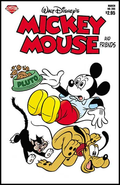 Image: Mickey Mouse and Friends #286 - Gemstone Publishing