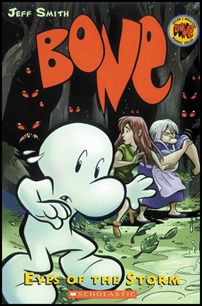Image: Bone Vol. 03: Eyes of the Storm  (color ed.) HC - Graphix