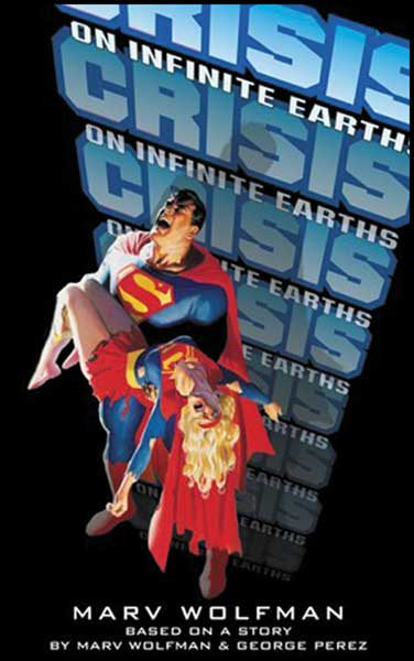 Image: Crisis on Infinite Earths Novelization SC  -