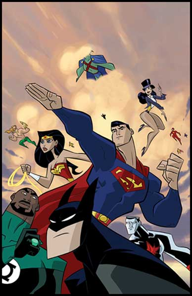 Image: Justice League Unlimited Vol. 03: Champions of Justice SC  - DC Comics