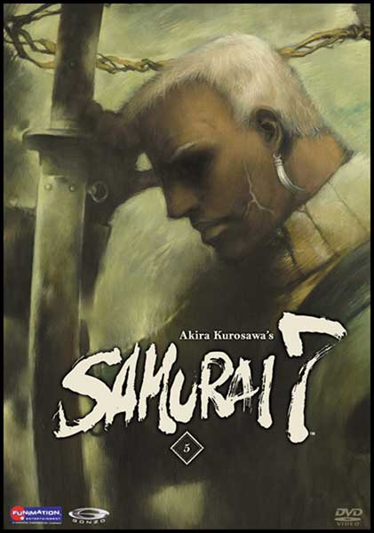 Image: Samurai 7 Vol. 5: Empire in Flux DVD - Uncut  -