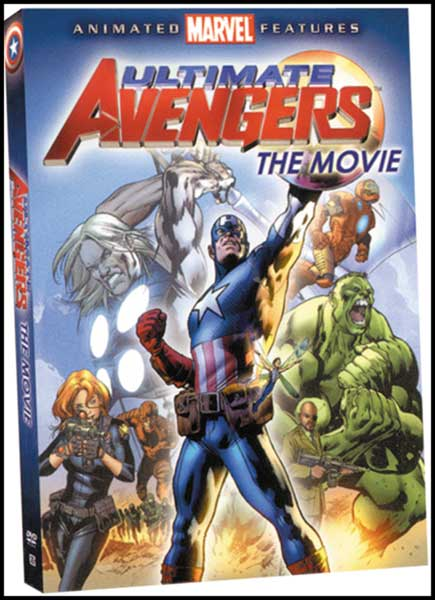 Image: Ultimate Avengers the Movie DVD  - Marvel Comics