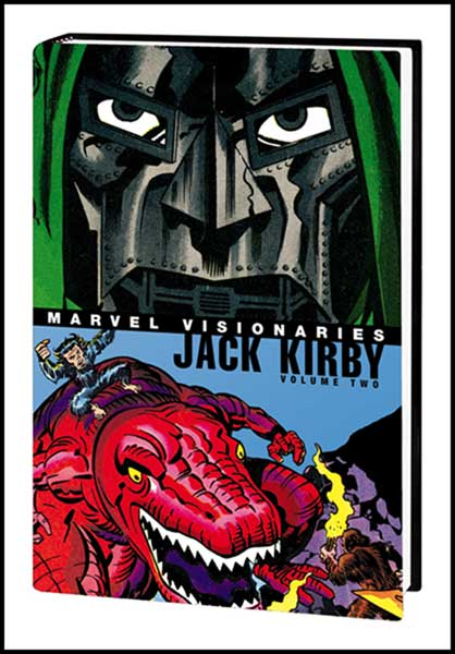 Image: Marvel Visionaries: Jack Kirby Vol. 02 HC  - Marvel Comics