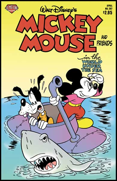 Image: Mickey Mouse and Friends #287 - Gemstone Publishing