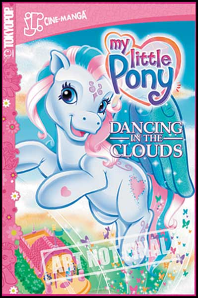 Image: My Little Pony Jr. Cine-Manga Vol. 3: Dancing in the Clouds SC  - Tokyopop Cine-Manga
