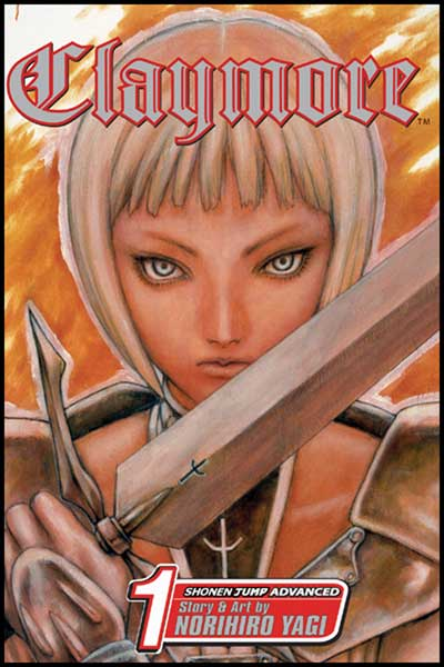 Image: Claymore Vol. 01 SC  - Viz Media LLC