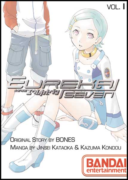 Image: Eureka Seven Vol. 01 SC  - Bandai Entertainment Inc