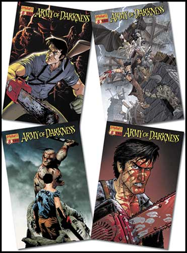Image: Army of Darkness #8 (Ash vs. Dracula) - D. E./Dynamite Entertainment