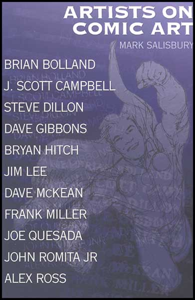 Image: Artists on Comic Art SC  (new printing) -