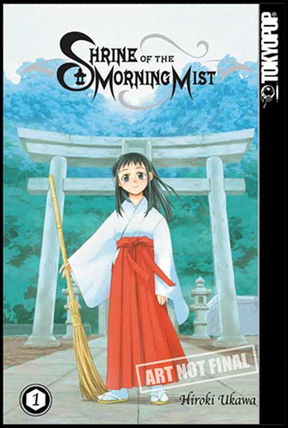 Image: Shrine of the Morning Mist Vol. 01 SC  - Tokyopop