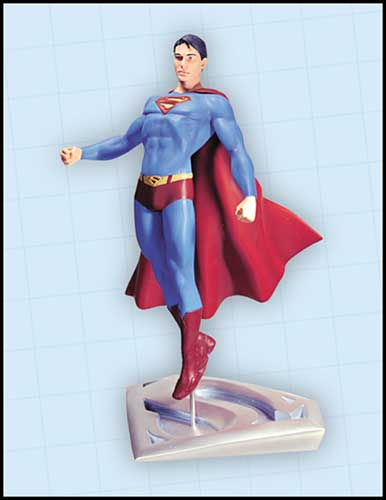 Image: Superman Returns Statue: In Flight  -