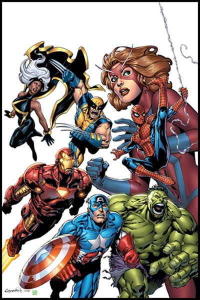 Image: Marvel Adventures Avengers #1 - Marvel Comics