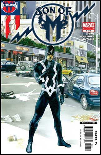 Image: Son of M #6 - Marvel Comics