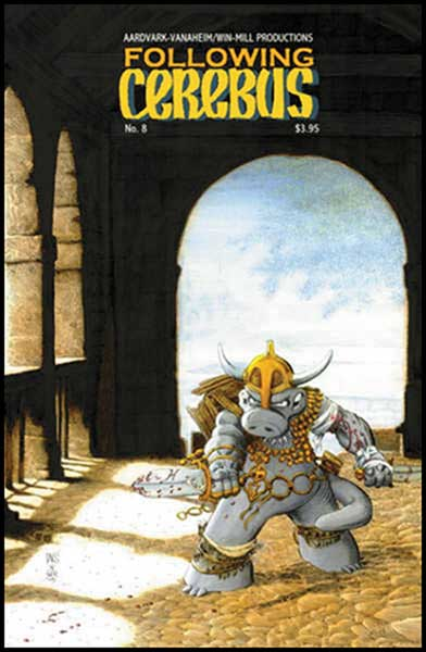 Image: Following Cerebus #8 - Aardvark Vanaheim/Win-Mill Productions