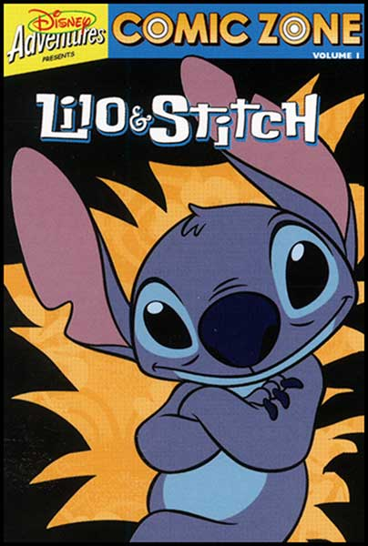 Image: Comic Zone Vol. 01: Lilo & Stitch SC  - Disney Press