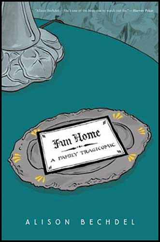 Image: Fun Home HC  - Houghton Mifflin Company