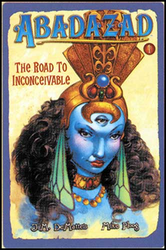 Image: Abadazad Book 1: Road to Inconceiable HC  -