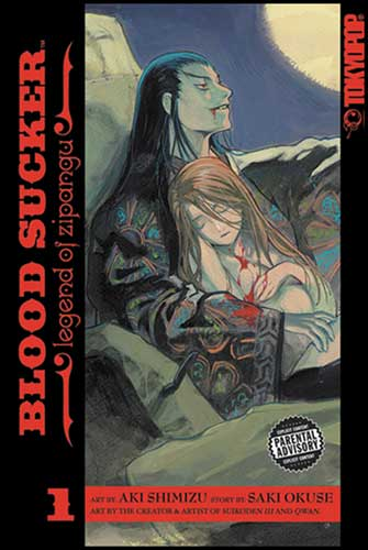 Image: Blood Sucker: Legend of Zipangu Vol. 1 SC  - Tokyopop
