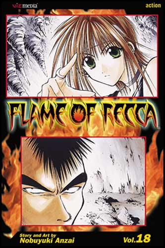 Image: Flame of Recca Vol. 18 SC  - Viz Media LLC
