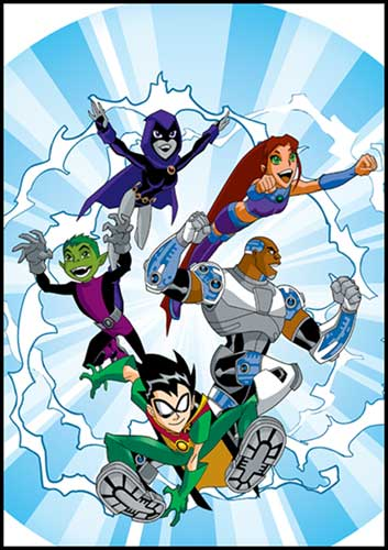 Image: Teen Titans Go! Vol. 05: On the Move SC  - DC Comics
