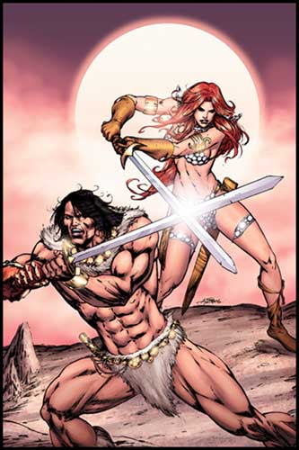 Image: Red Sonja / Claw: Devil's Hands #4 - DC Comics