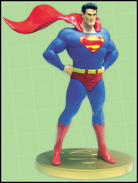 Image: Superman Cover to Cover Statue: Superman #53  -