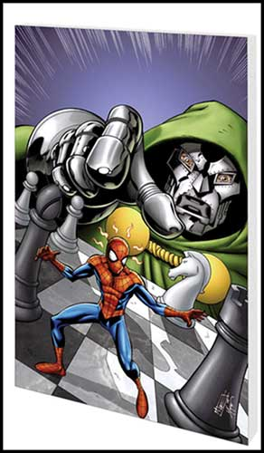 Image: Marvel Adventures Spider-Man Vol. 3: Doom with a View  (digest) - Marvel Comics