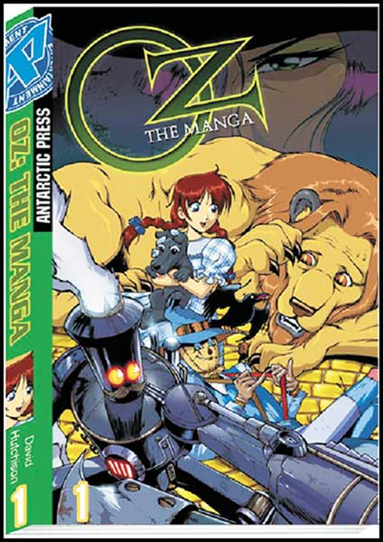 Image: Oz the Manga Pocket Manga Vol. 1 SC  - Antarctic Press
