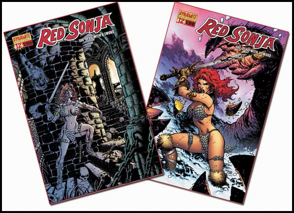 Image: Red Sonja #12 - D. E./Dynamite Entertainment