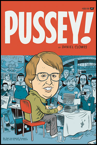 Image: Eightball: Pussey! SC  (new printing) - Fantagraphics Books